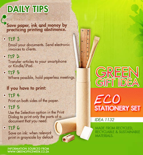 Eco Friendly Living And Green Business Blog Go Green With Eco Friendly Gifts