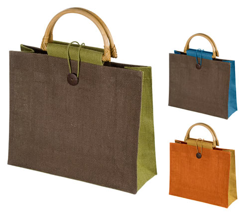 Bamboo Handle Eco Shopping Bag