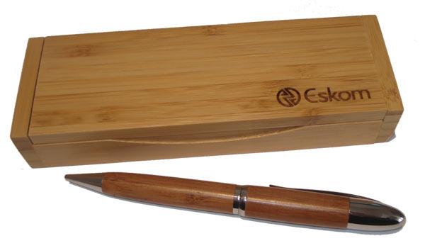 eskom unity bamboo pen gift buy environmentally friendly