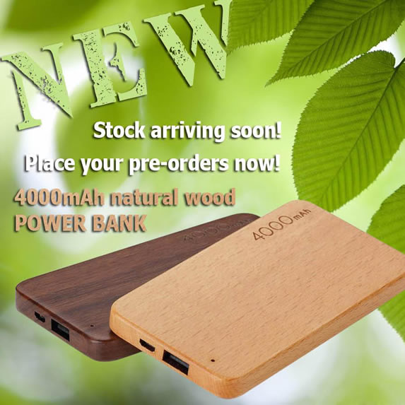 Wooden Power Banks